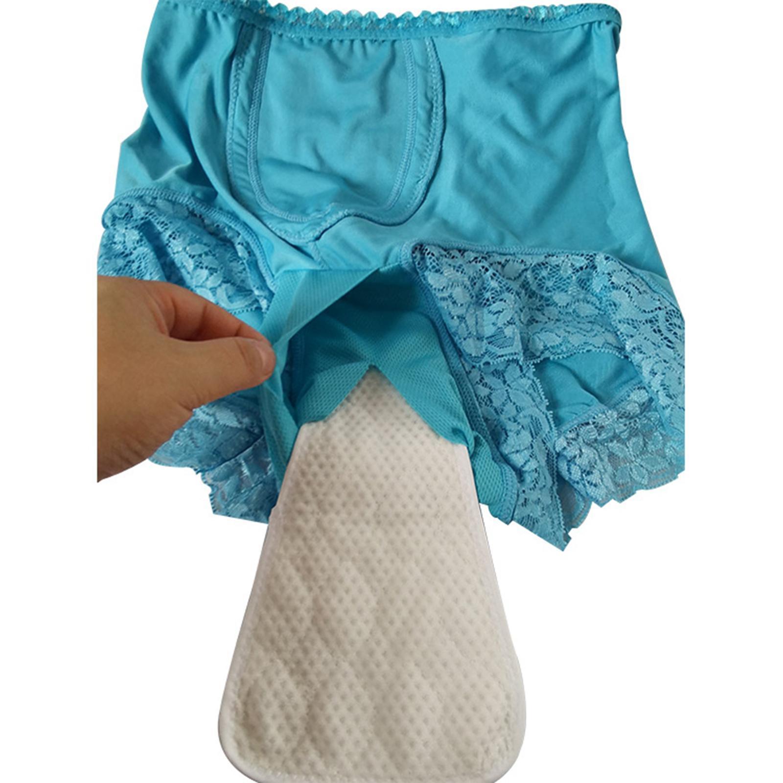 Indexbild 22 - Wiederverwendbare Inkontinenz Unterwäsche mit Pad für Frauen Menstruations