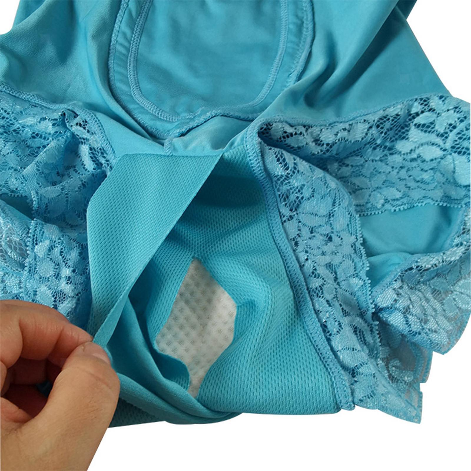Indexbild 24 - Wiederverwendbare Inkontinenz Unterwäsche mit Pad für Frauen Menstruations