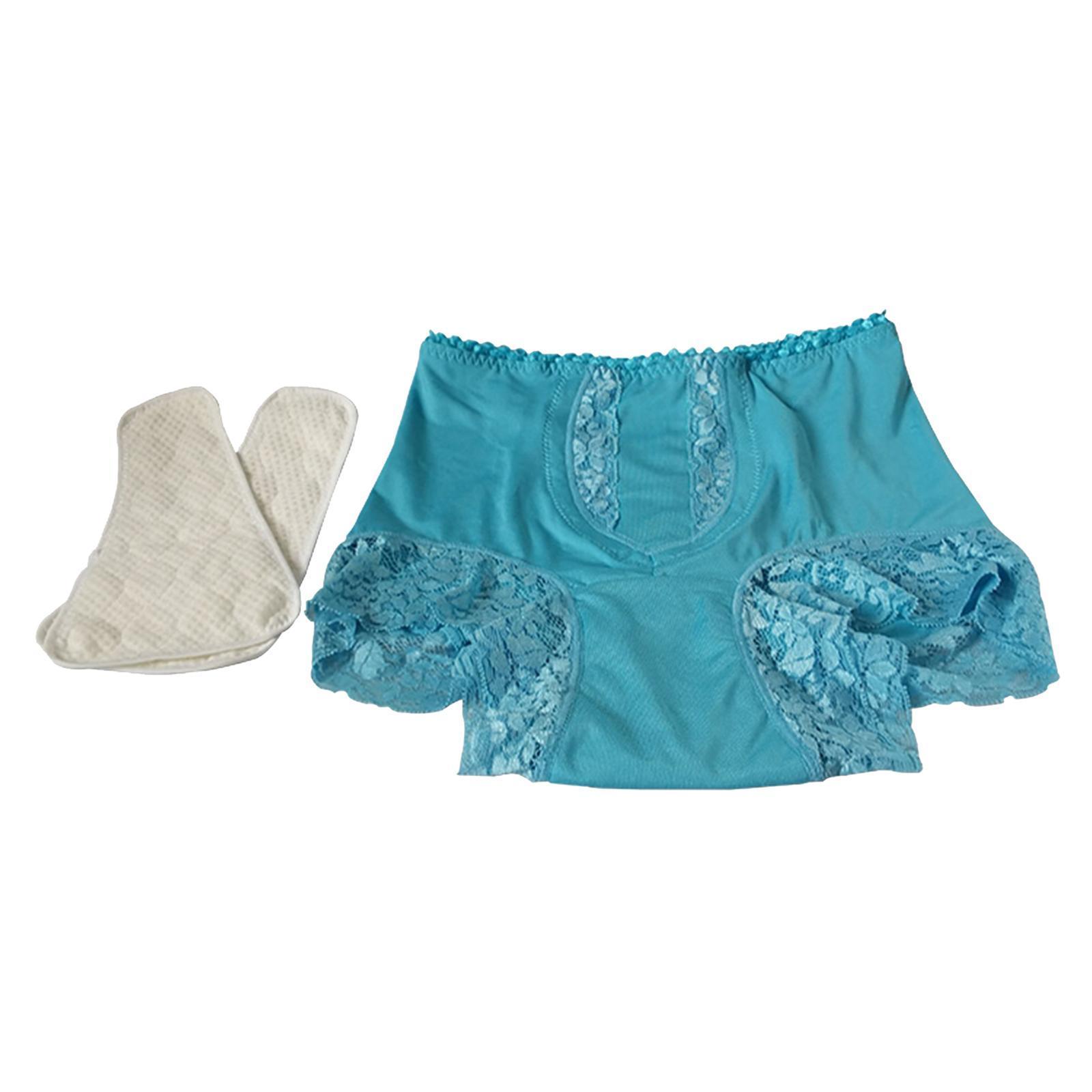 Indexbild 26 - Wiederverwendbare Inkontinenz Unterwäsche mit Pad für Frauen Menstruations