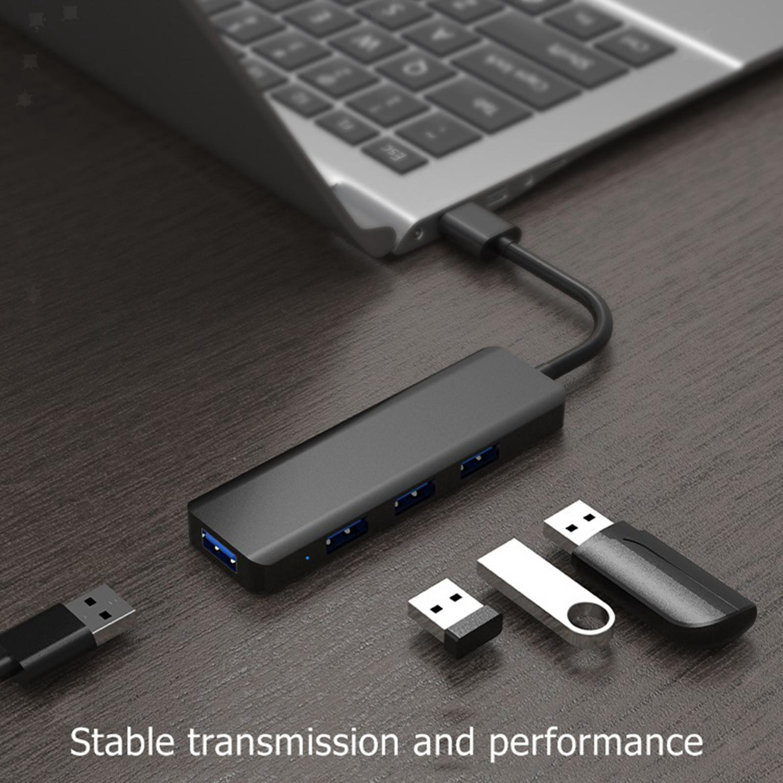 Multi-dans-1-type-C-Portable-Docking-station-USB-3-0-HDMI-PD-invite-Hub-pour-Macbook miniature 92