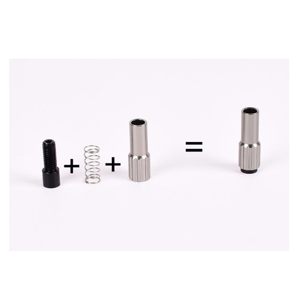 miniature 10 - Paquet de 5 pièces de connecteur de boulon de vis de réglage de câble de