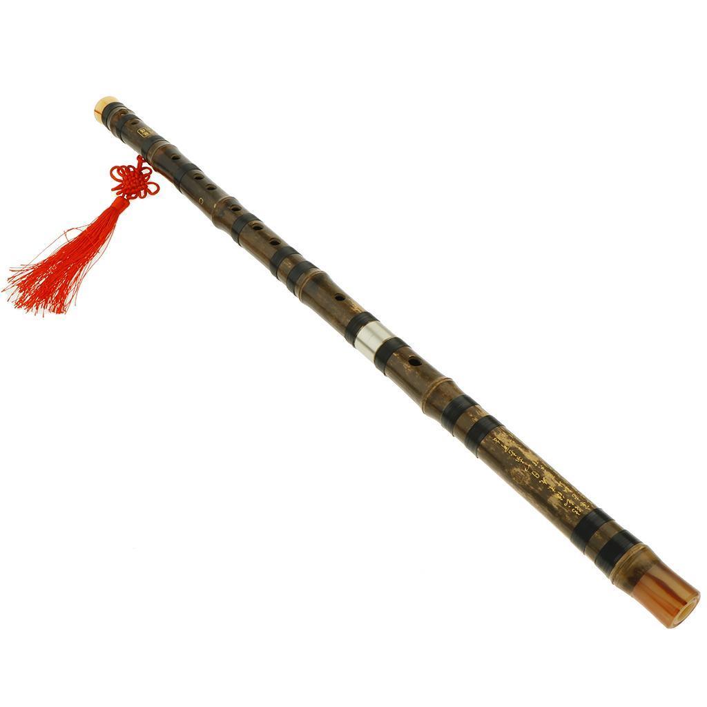 miniatura 9 - Flauti Tradizionali Cinese Flauto Di Bambù Fatto A Mano Dizi Tono Flauto