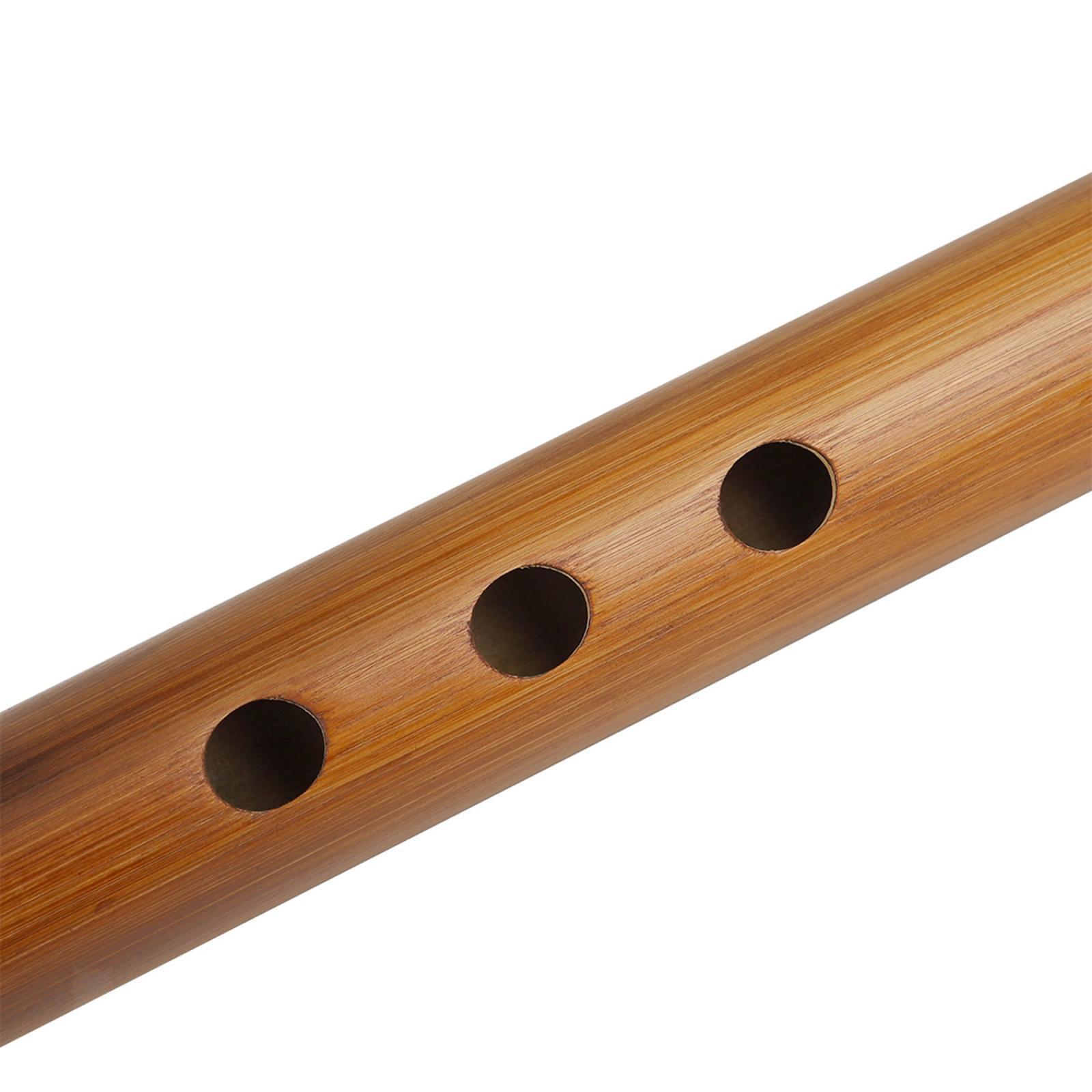 miniatura 34 - Unico-Indiano-di-Legno-Flauto-Strumento-Musicale-Registratore-Bansuri-Regalo