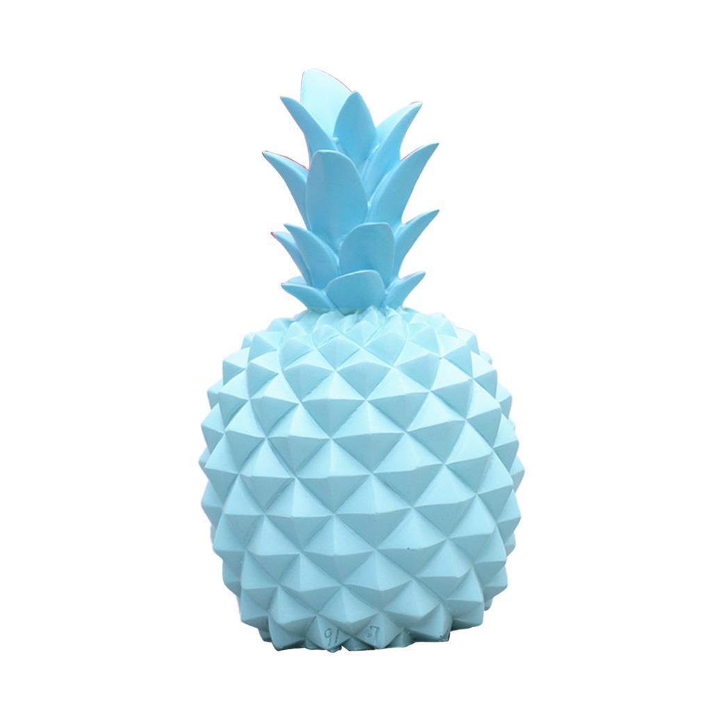 miniatura 3 - Resina A Forma Di Ananas Figurine Manufatti Per Arredamento Salvadanai