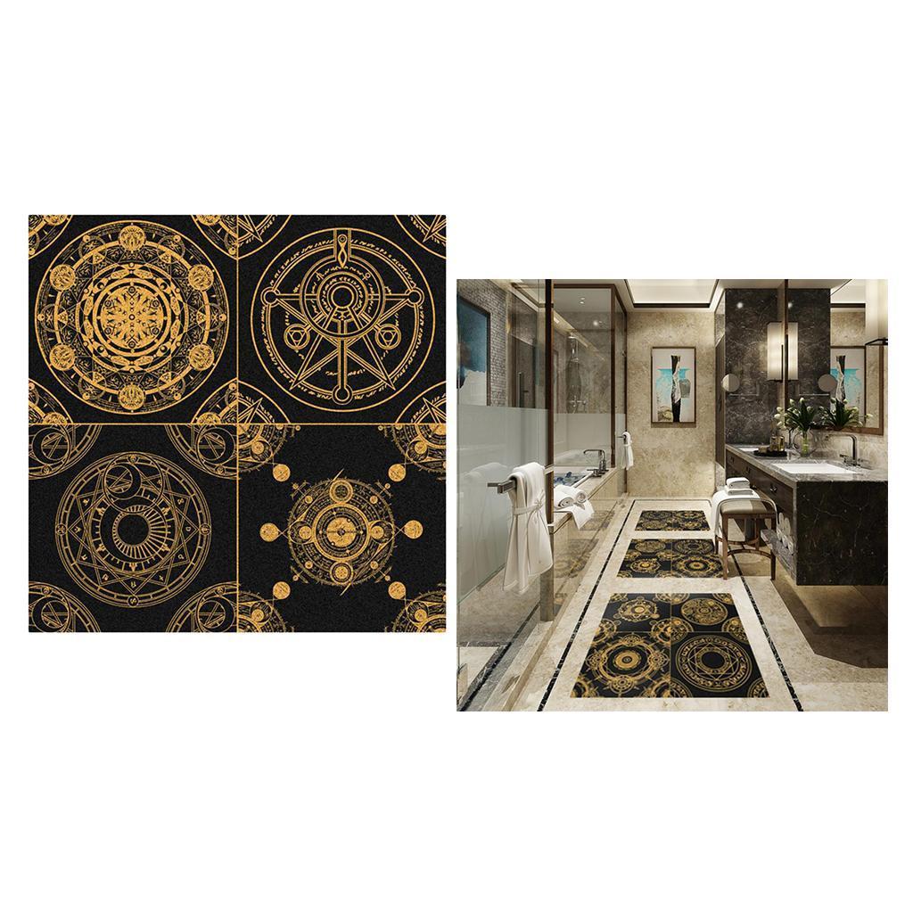 Vinyl-Wall-Tile-Stickers-Decals-Kitchen-Bathroom-Home-Decor-60x60cm thumbnail 18