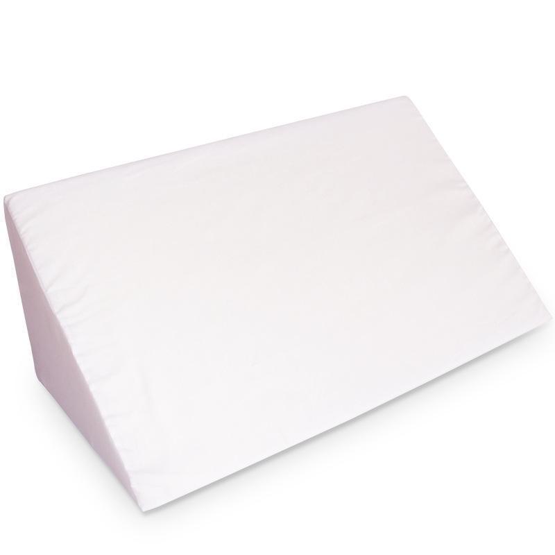 thumbnail 3 - Foam-Wedge-Pillow-Elevation-Cushion-Lumbar-Support-Cottong-or-PU-Leather-Zipper