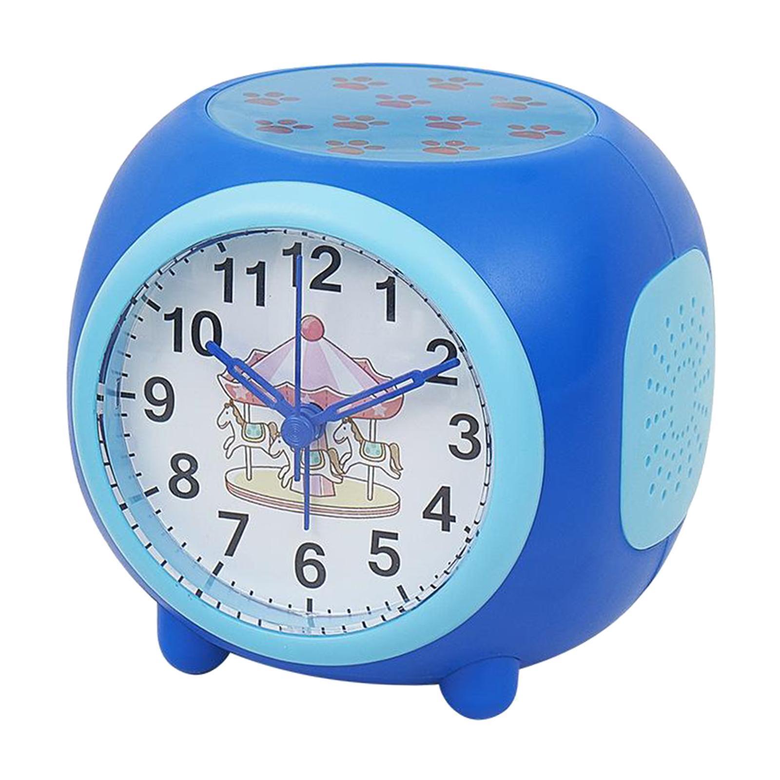 Controllo-vocale-Star-Projection-Lamp-Sveglia-Snooze-Clock-Orologio-da-camera-da miniatura 6