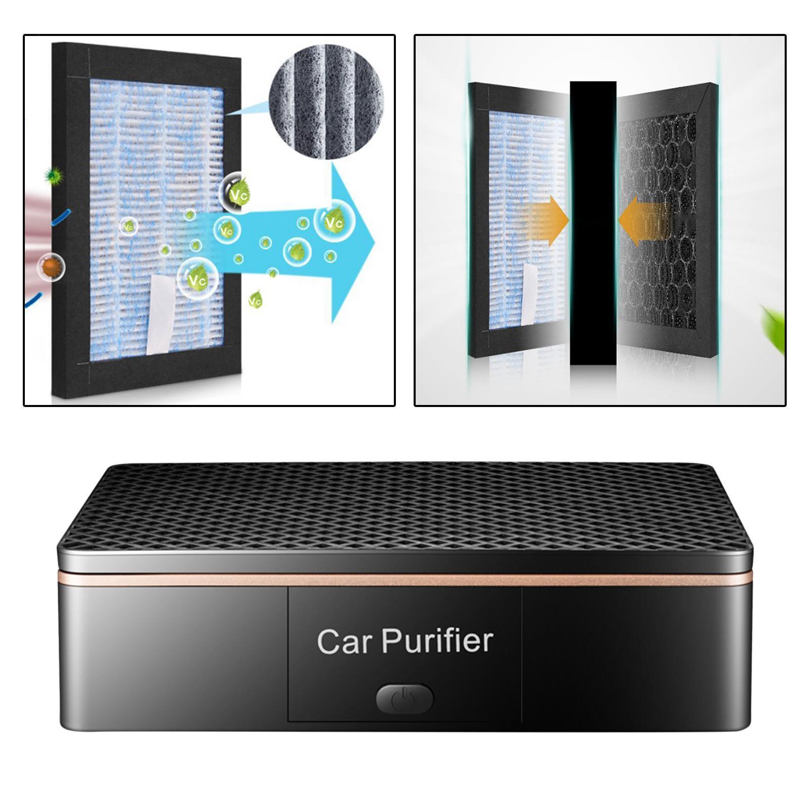 Indexbild 21 - Auto Air Purifier Luft Reiniger Deodorizer Ionisator für Home Office
