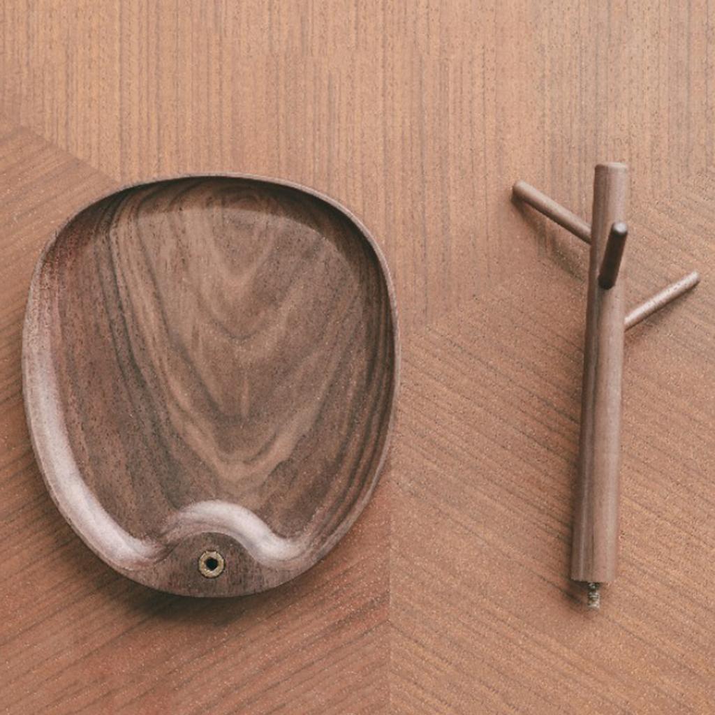 Indexbild 19 - Holz Schmuck Tablett Schmuckstück Halskette Halter Kleiderbügel Haken Uhr