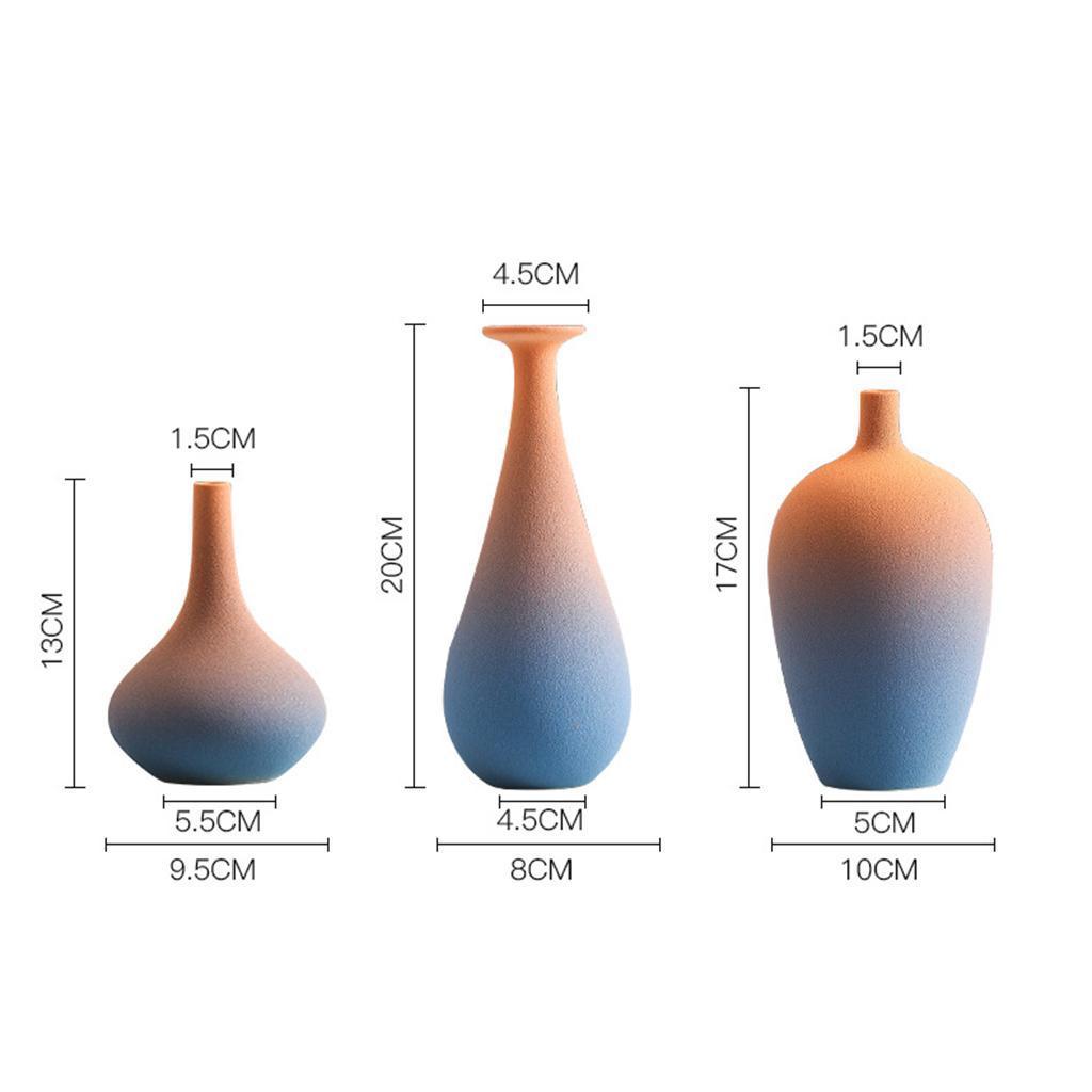 Indexbild 4 - Blumenvase Keramik Blumentöpfe Trockenblumenhalter Pflanze Pflanzer Art Decor
