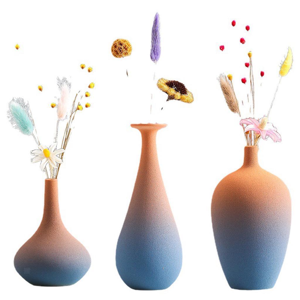 Indexbild 3 - Blumenvase Keramik Blumentöpfe Trockenblumenhalter Pflanze Pflanzer Art Decor