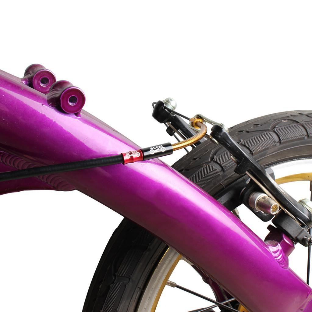 2 Pack Flexible Brake Noodle Noodle Caliper Elbow Bicycle Parts Accessories