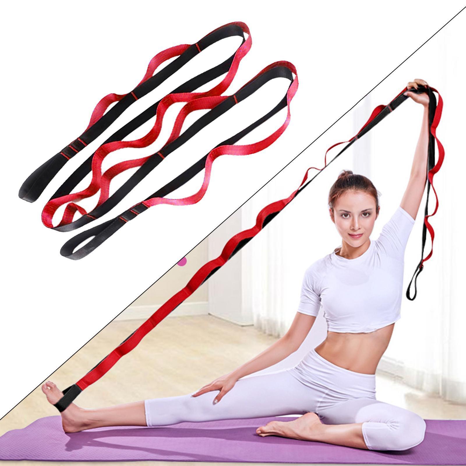 miniatura 42 - Pierna camilla yoga Stretch Strap Latin Dance Gymnastic pull cinturón flexibilidad