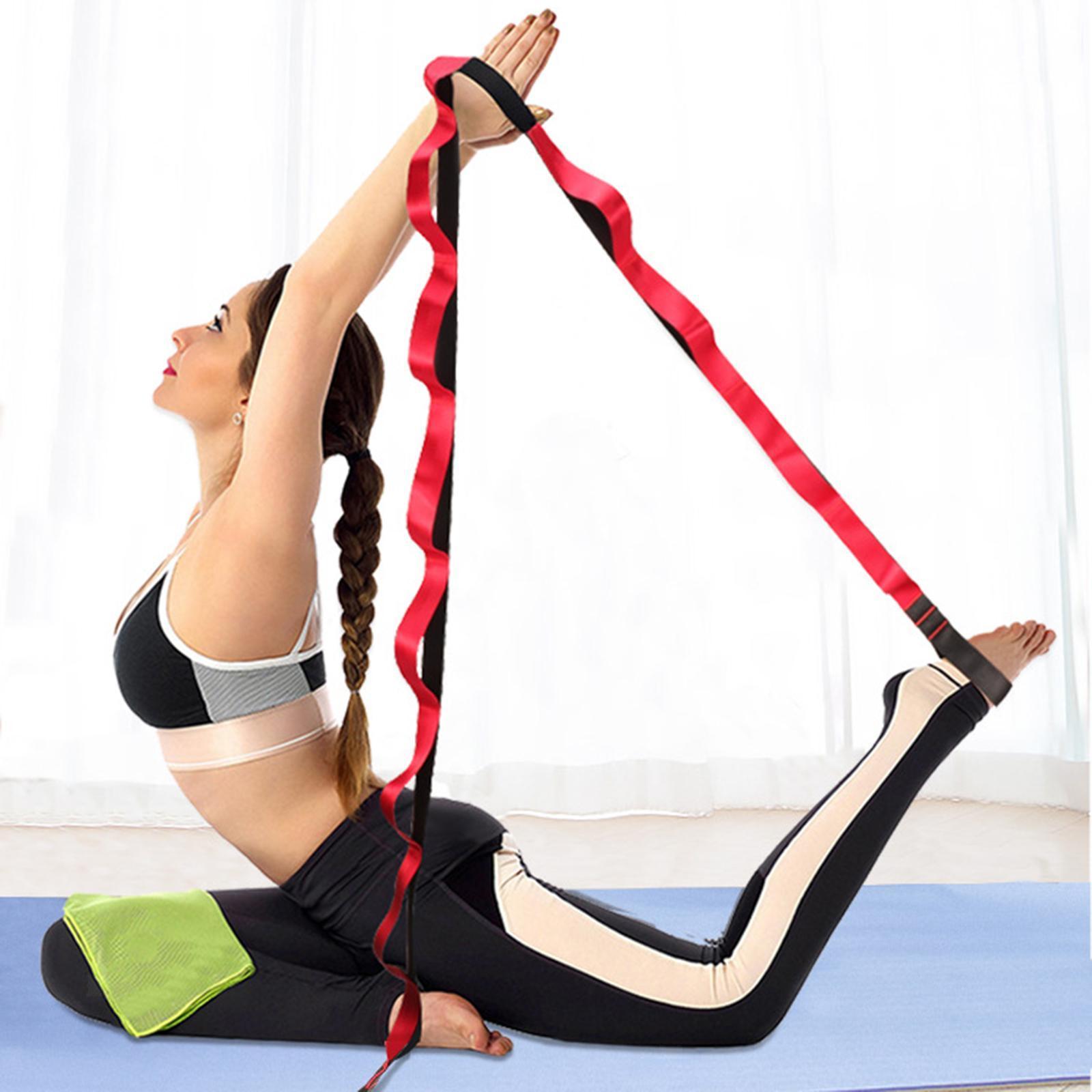miniatura 49 - Pierna camilla yoga Stretch Strap Latin Dance Gymnastic pull cinturón flexibilidad