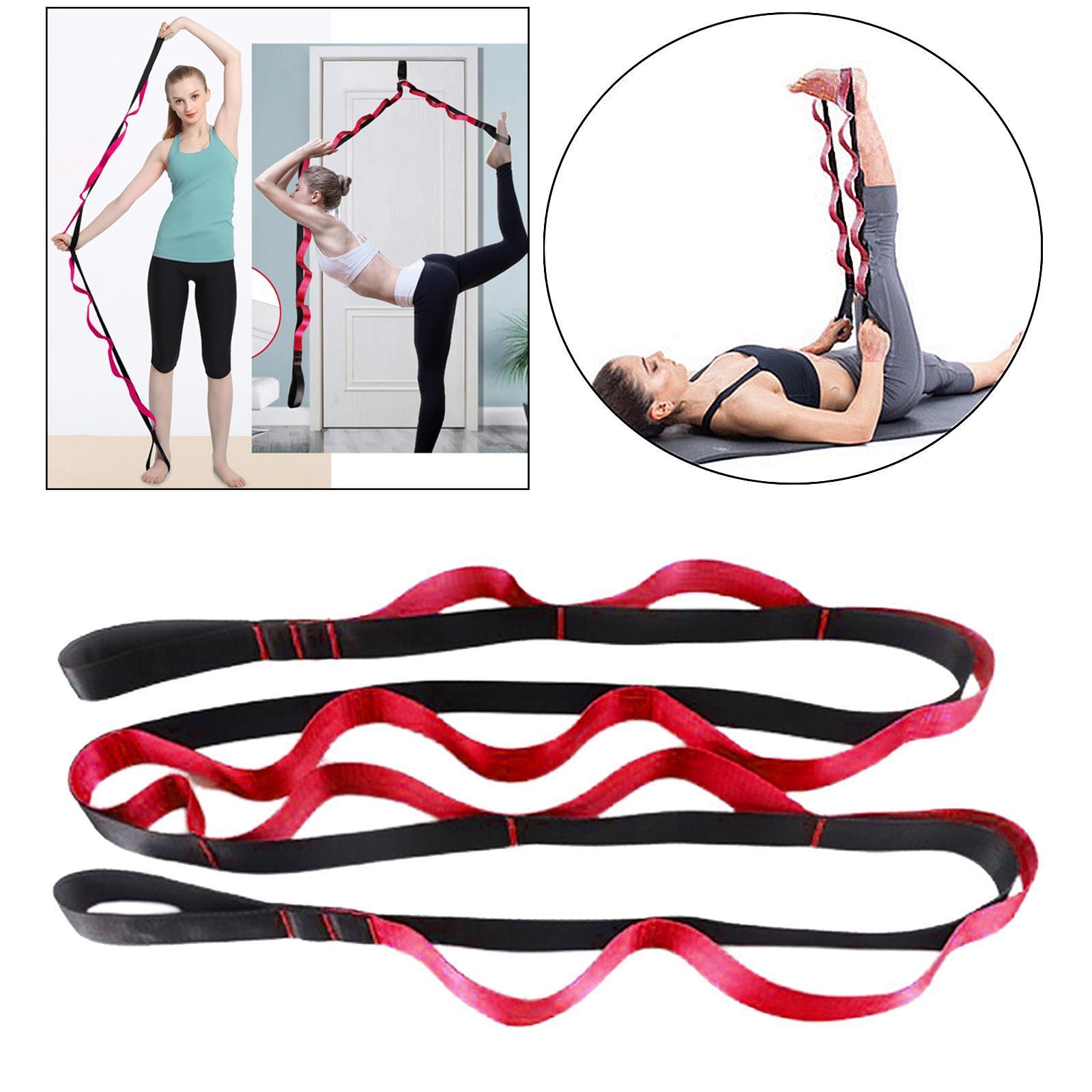 miniatura 45 - Pierna camilla yoga Stretch Strap Latin Dance Gymnastic pull cinturón flexibilidad