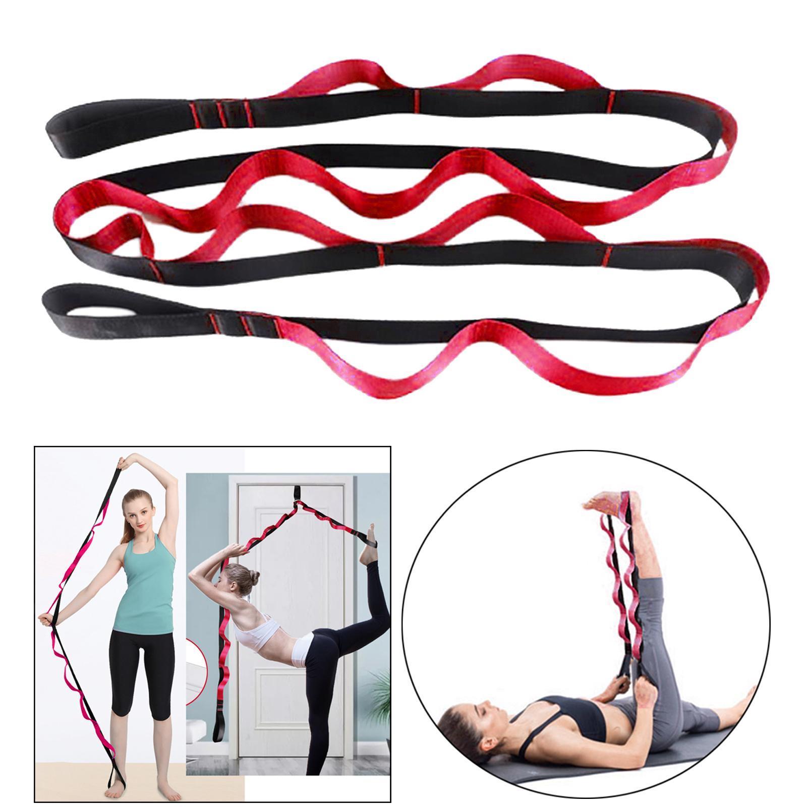 miniatura 44 - Pierna camilla yoga Stretch Strap Latin Dance Gymnastic pull cinturón flexibilidad