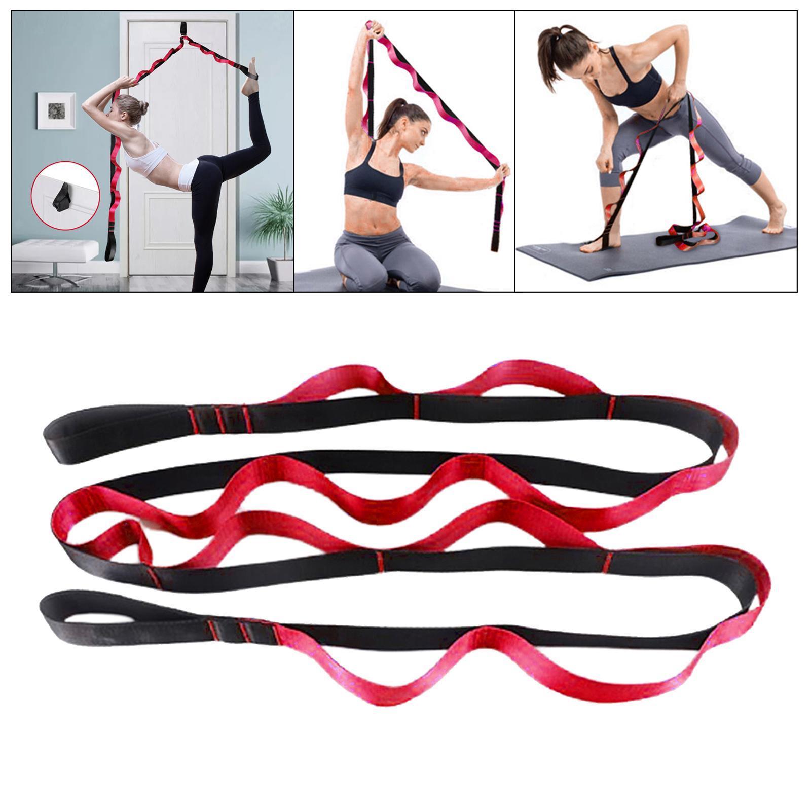 miniatura 48 - Pierna camilla yoga Stretch Strap Latin Dance Gymnastic pull cinturón flexibilidad