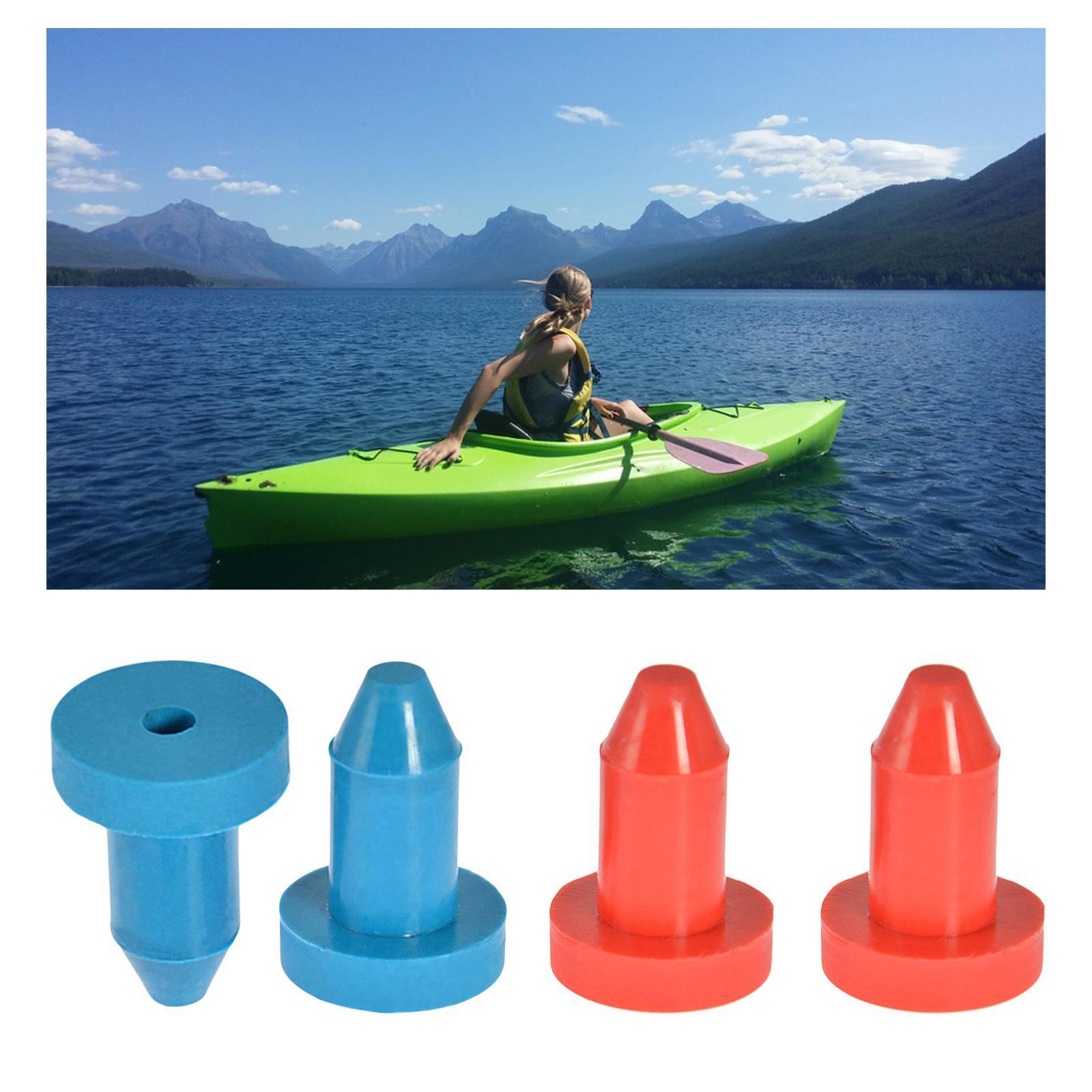 2pcs Kayak Drain Plugs Stoppers for Sun Dolphin Aruba 10 Fis