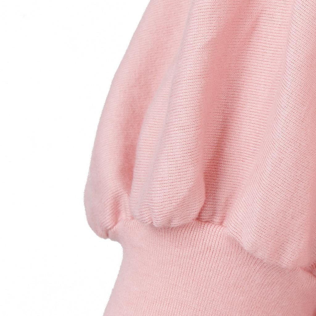 Womens-Long-Batwing-Sleeve-Solid-Pullover-Tops-Casual-Loose-Oversized-Shirts thumbnail 26