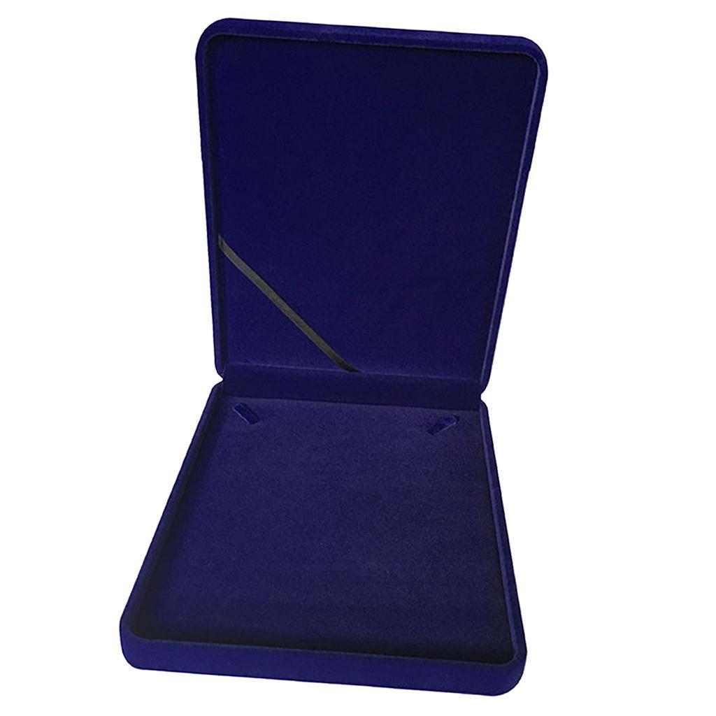 Portable-Velours-Collier-Boite-Chaine-Vitrine-Boite-cadeau-Voyage-Bijoux miniature 12
