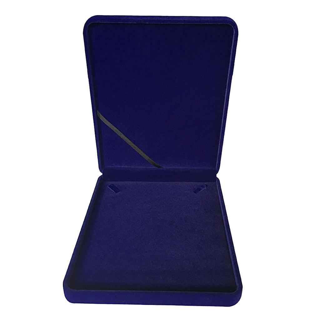 Portable-Velours-Collier-Boite-Chaine-Vitrine-Boite-cadeau-Voyage-Bijoux miniature 11