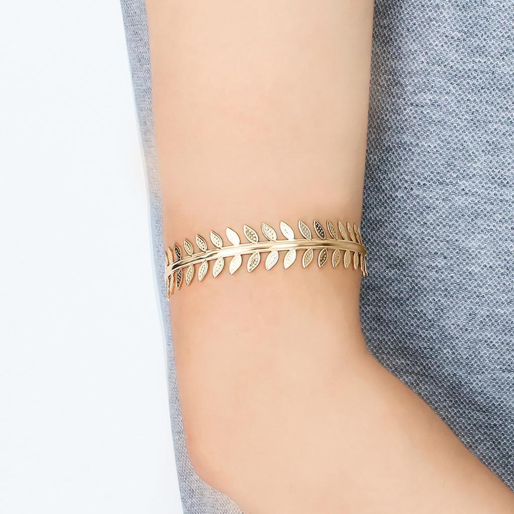 Indexbild 3 - Wirbelblatt Oberarm Ring Mädchen verstellbare Armband Armreif Manschette