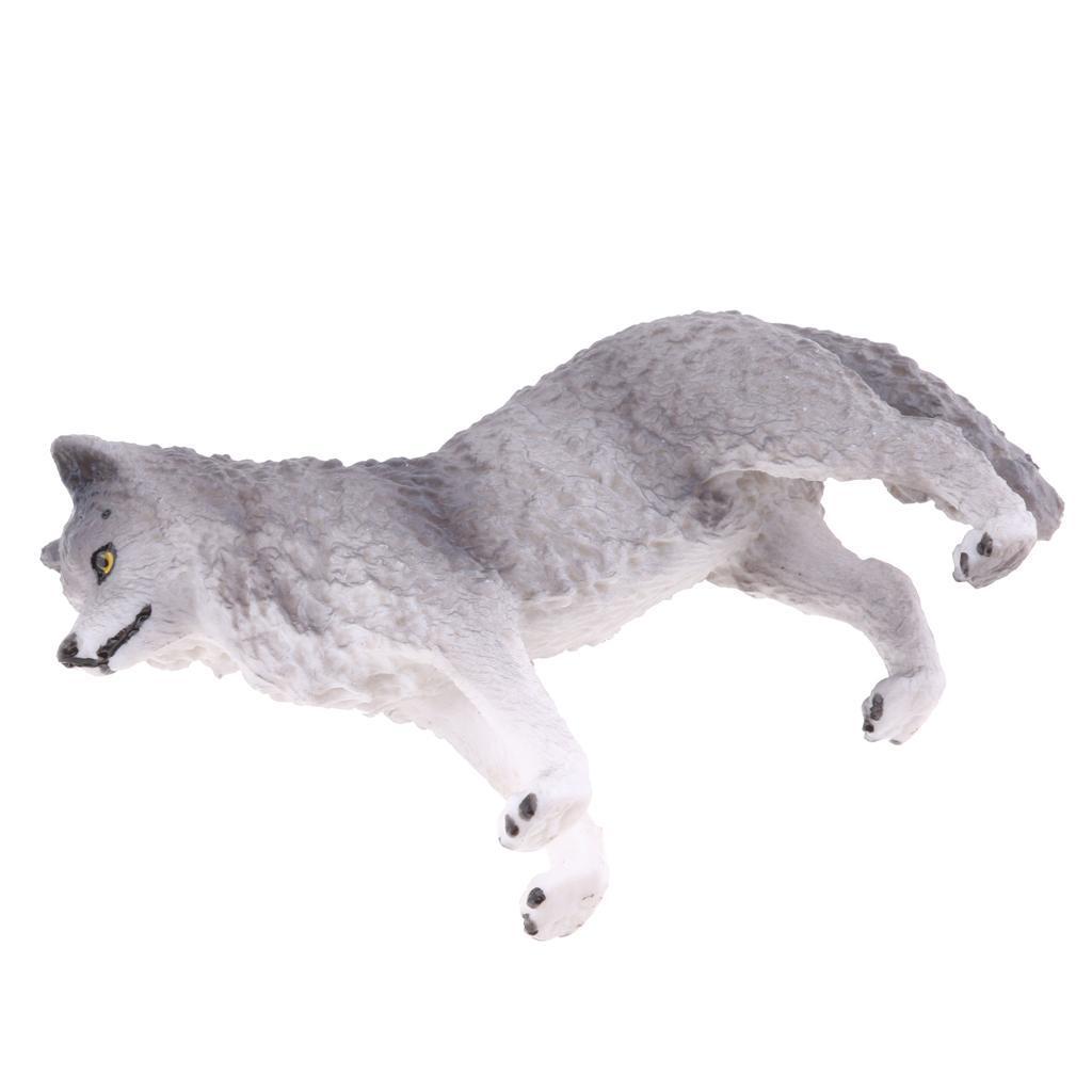 Realistico-Selvaggio-Farm-Natura-Animale-Albero-Modello-Azione-Figure-Kid miniatura 33