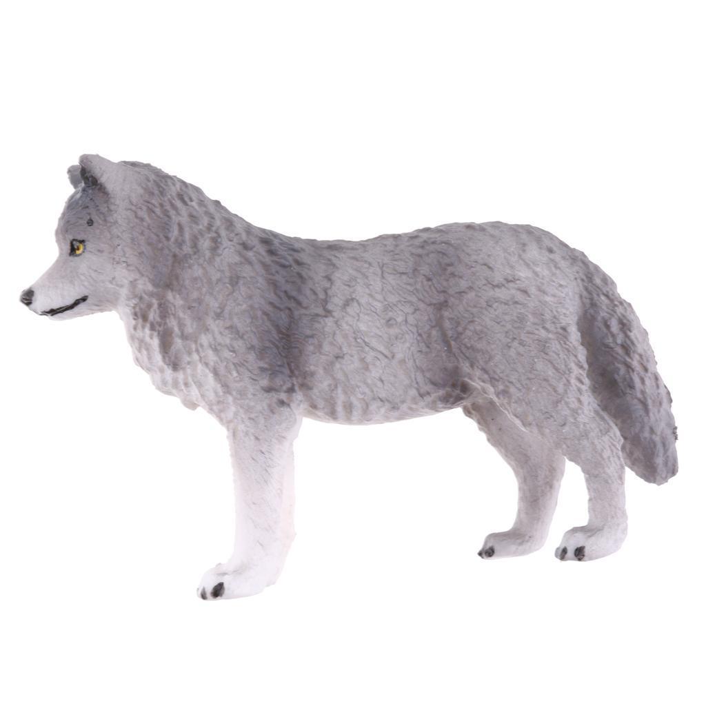 Realistico-Selvaggio-Farm-Natura-Animale-Albero-Modello-Azione-Figure-Kid miniatura 32