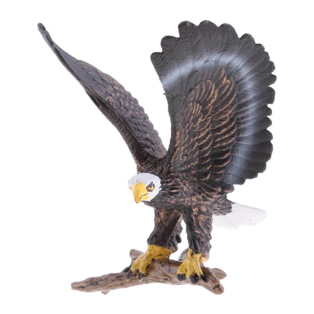 Realistico-Selvaggio-Farm-Natura-Animale-Albero-Modello-Azione-Figure-Kid miniatura 65