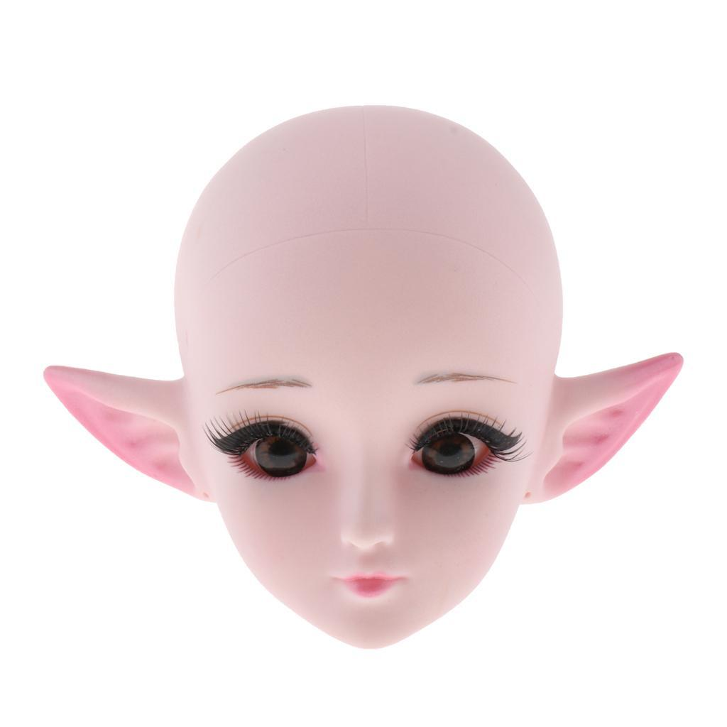 24-039-039-1-3-Dolls-Plastic-Head-DIY-Replacement-Doll-Body-Parts-White-Skin thumbnail 9