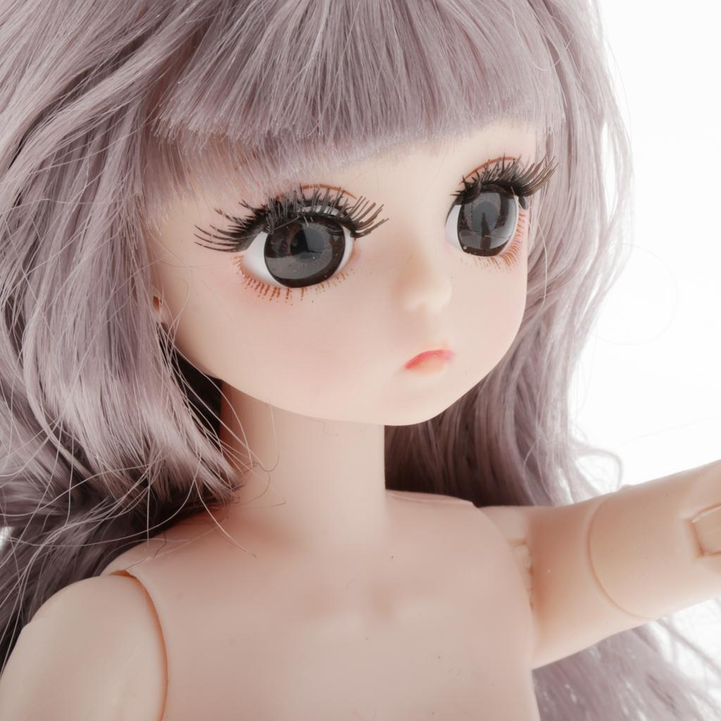 15 Moveable Jointed 60cm 1/3 Bjd Female Naked Nude Women