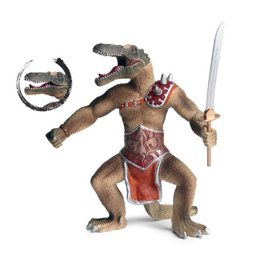 1x-Nanosaur-Model-Figure-Toys-Dinosaur-Soldier-Plastic-Children-Toy-Decor thumbnail 3