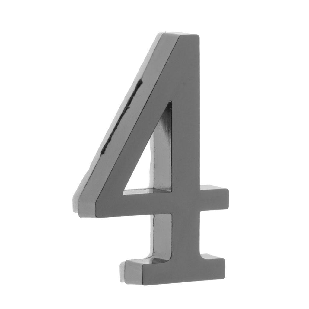 Metal-House-Door-Plaque-Hotel-Gate-Office-Dormitory-Number-Sign-Sticker miniature 12
