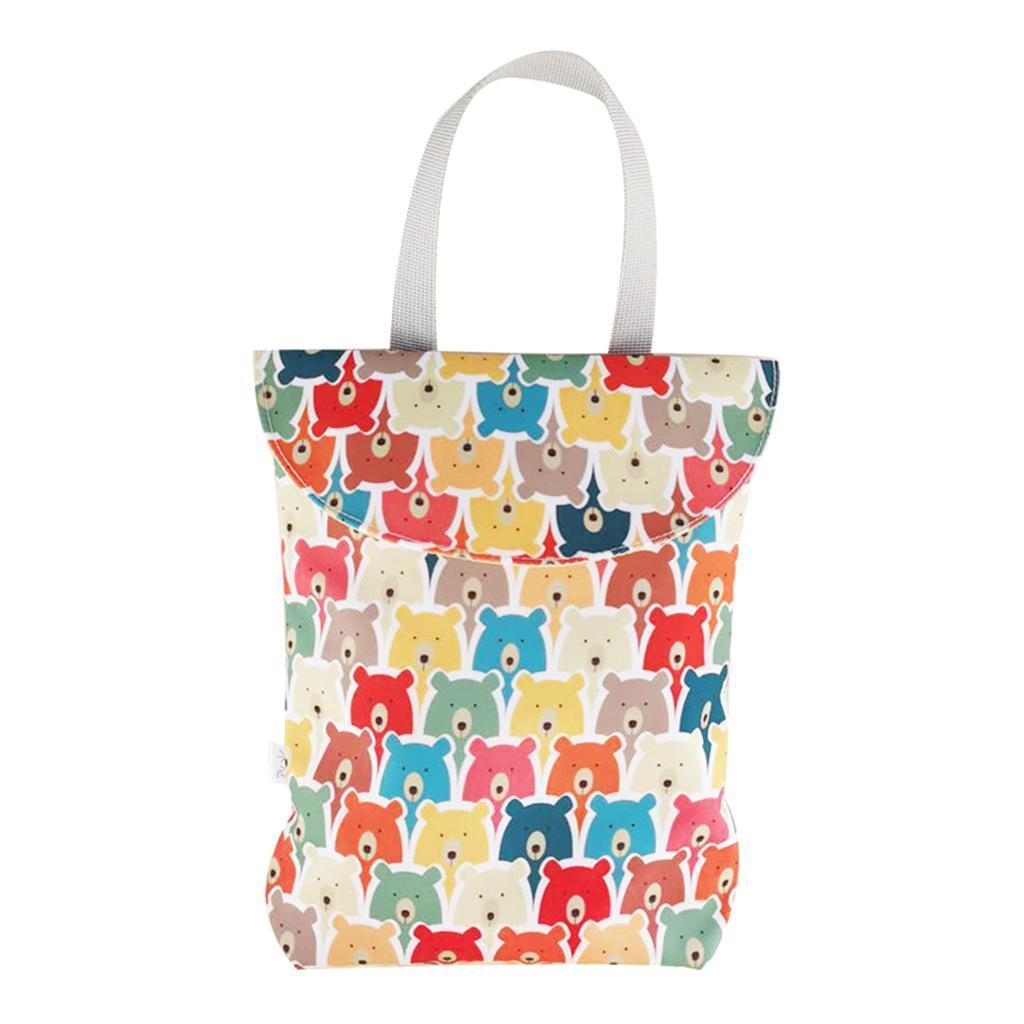 Baby-Diaper-Bag-Organizer-Fashion-Prints-Mummy-Storage-Bag-Outdoor-Reusable miniature 31