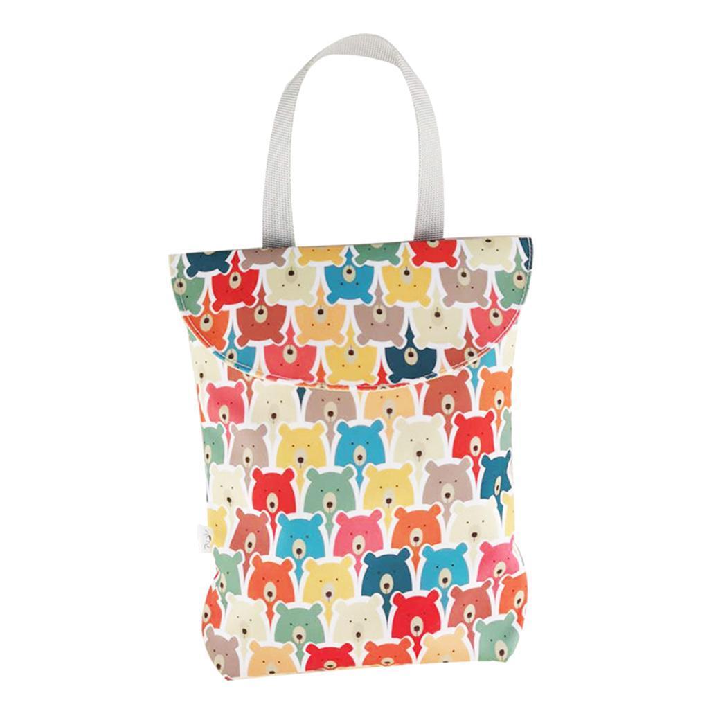Baby-Diaper-Bag-Organizer-Fashion-Prints-Mummy-Storage-Bag-Outdoor-Reusable miniature 32