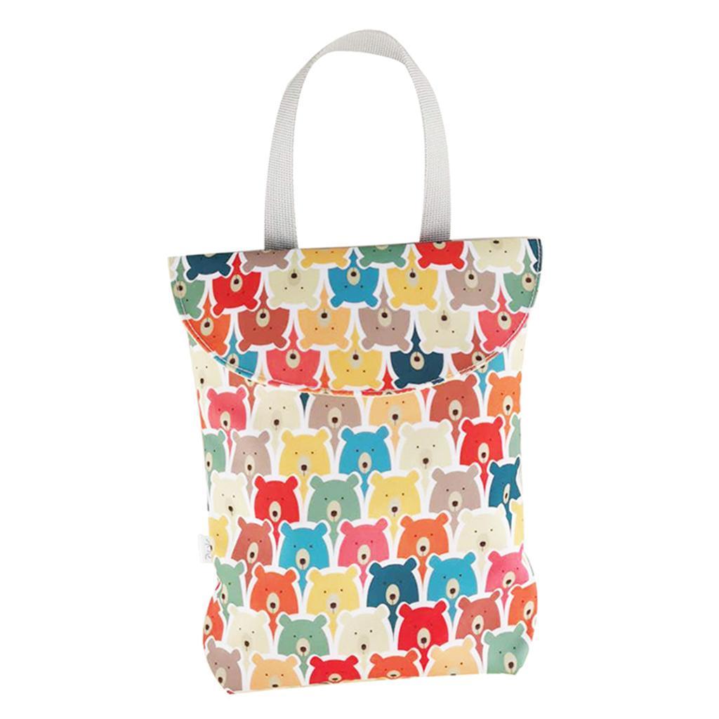 Baby-Diaper-Bag-Organizer-Fashion-Prints-Mummy-Storage-Bag-Outdoor-Reusable miniature 33