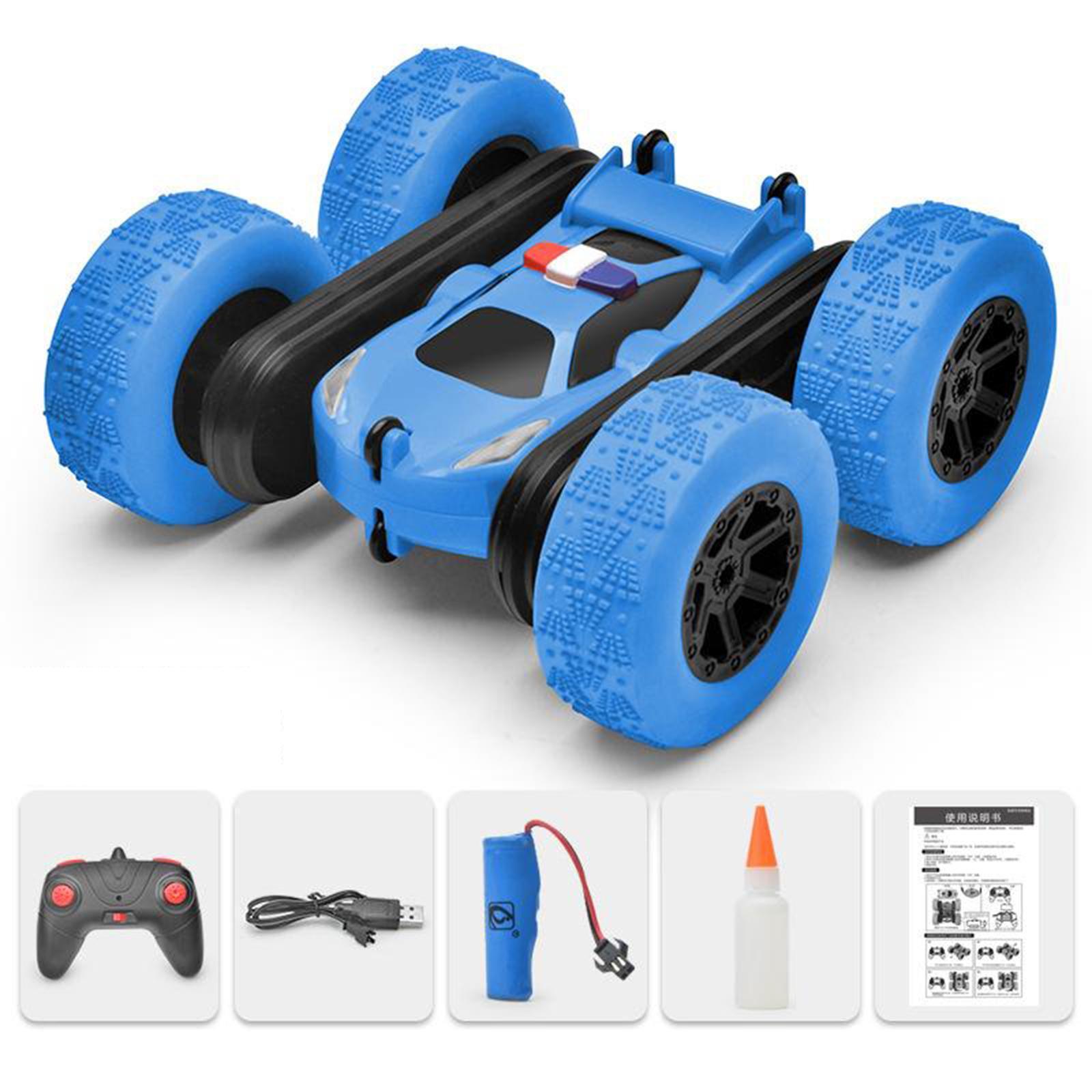 miniatura 46 - Telecomando Auto Stunt Car Giocattolo Per Bambini 2.4GHz di Controllo Remoto