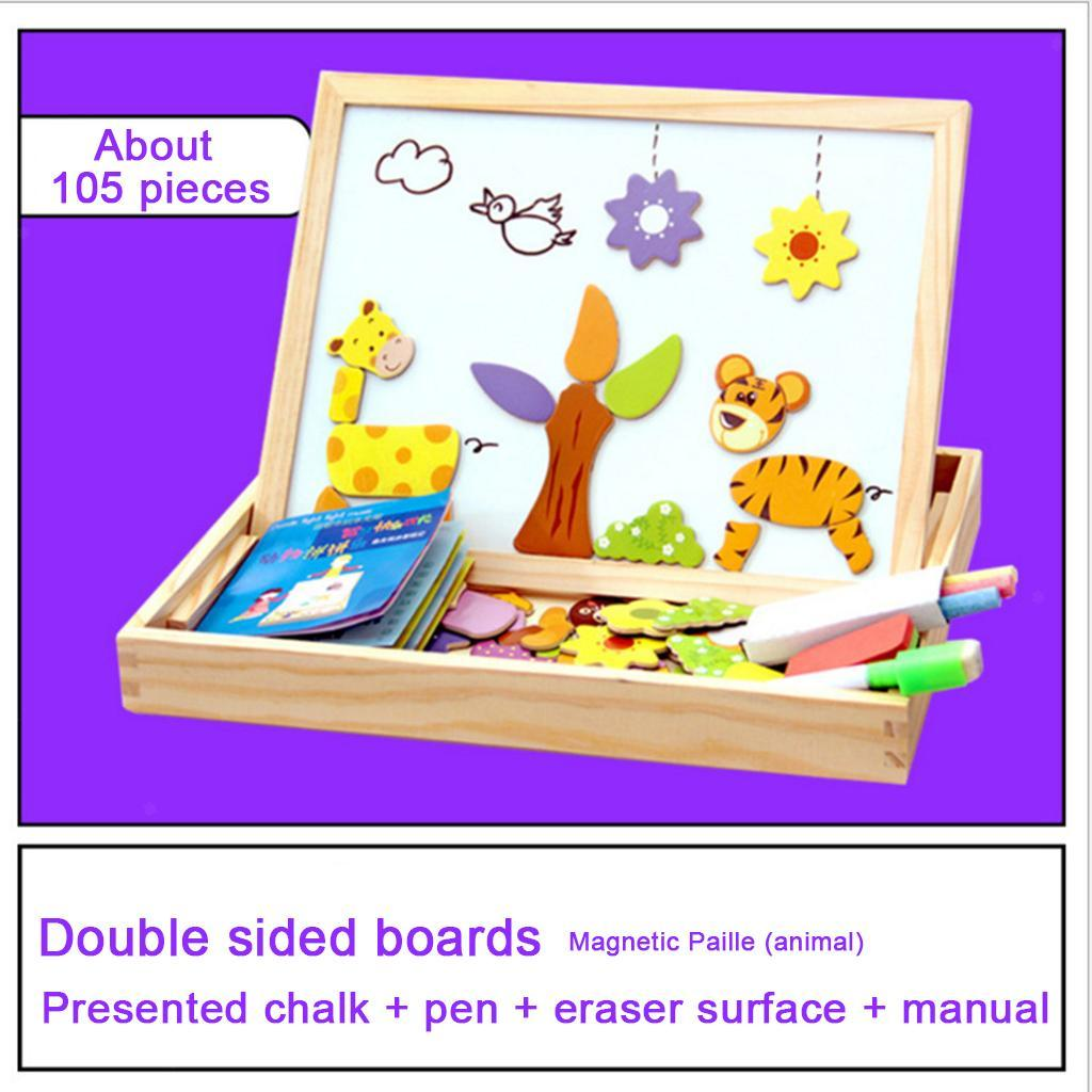 thumbnail 11 - Educational Magnetic Drawing Board 3D Puzzles Drawing Toys Halloween Gift