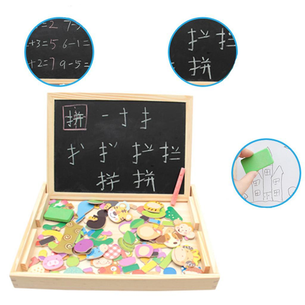 thumbnail 6 - Educational Magnetic Drawing Board 3D Puzzles Drawing Toys Halloween Gift