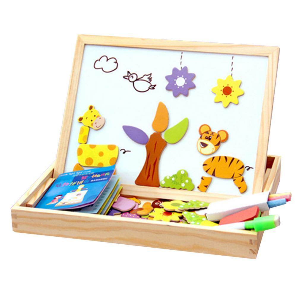 thumbnail 8 - Educational Magnetic Drawing Board 3D Puzzles Drawing Toys Halloween Gift