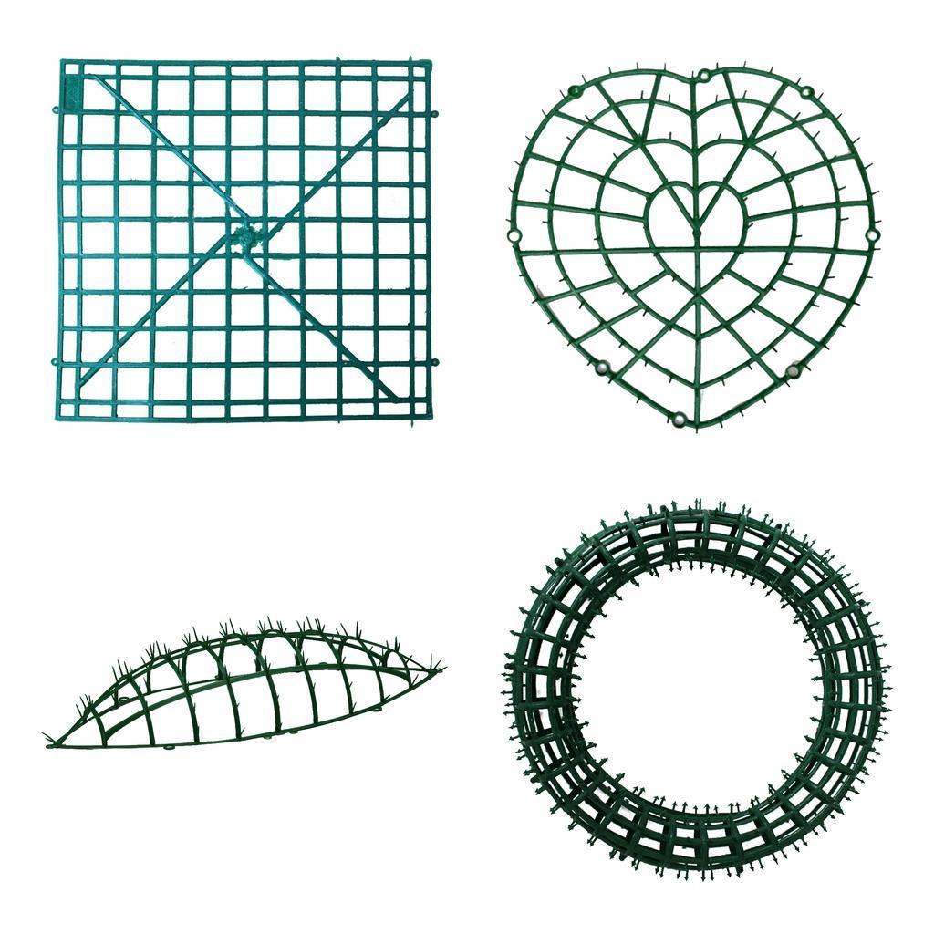 Fiore-artificiale-Della-Parete-di-Pannelli-di-Plastica-Del-Supporto-per-la miniatura 9