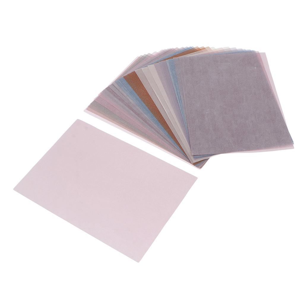 15-30pcs-Hintergrundpapier-Handgefertigt-fuer-Kartenherstellung-Schreiben Indexbild 19