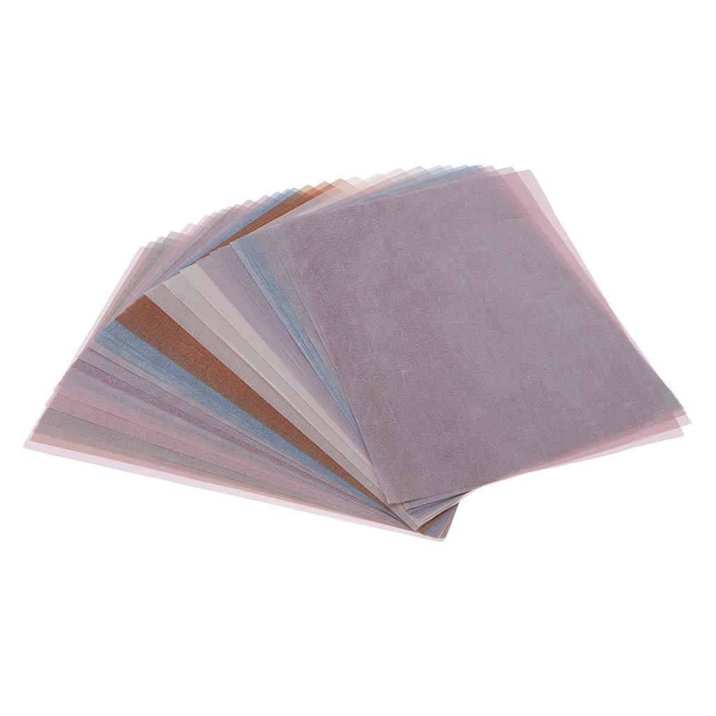 15-30pcs-Hintergrundpapier-Handgefertigt-fuer-Kartenherstellung-Schreiben Indexbild 18