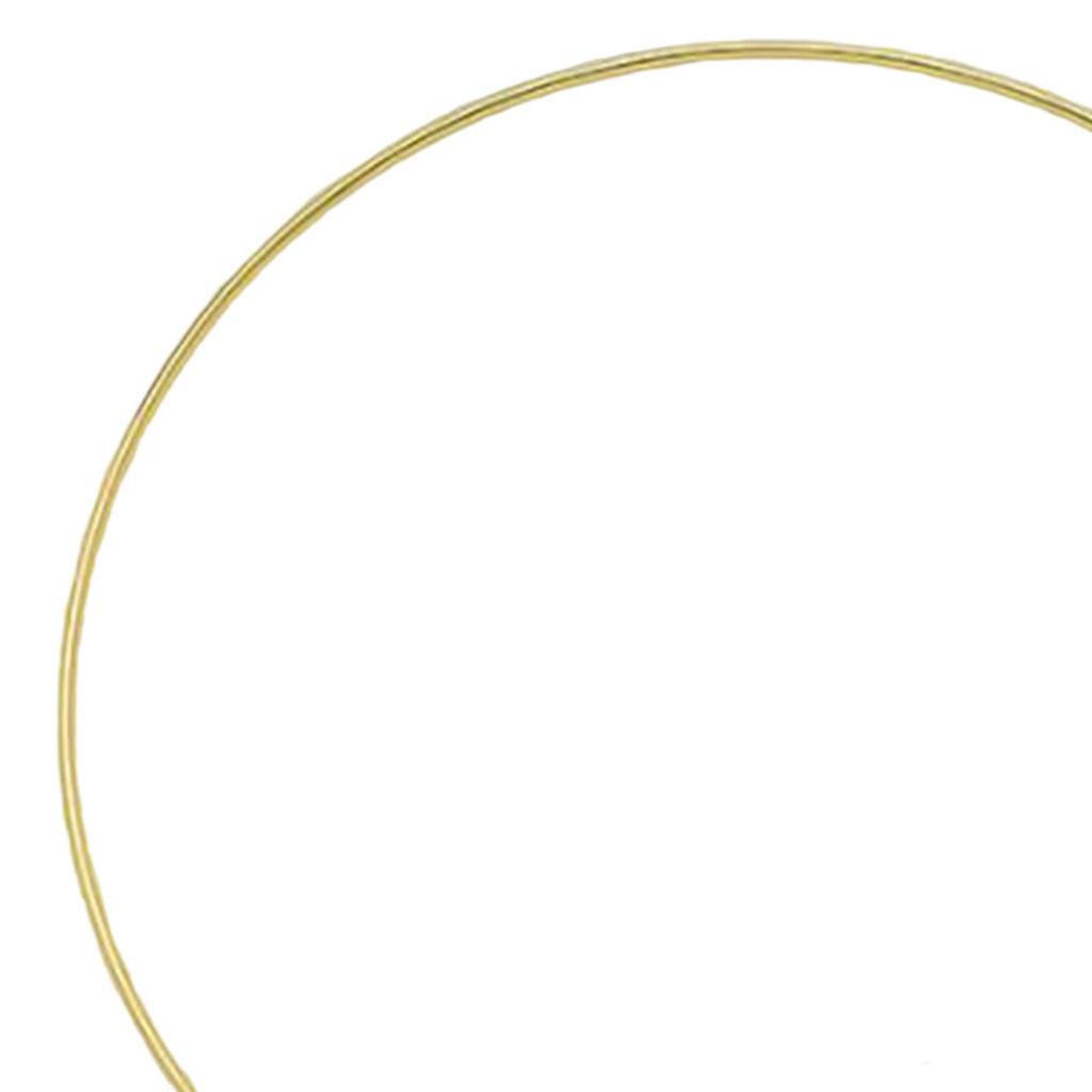 miniatura 35 - Anelli di metallo per Sogno Catchers Macrame Cerchi Mestiere Ruote