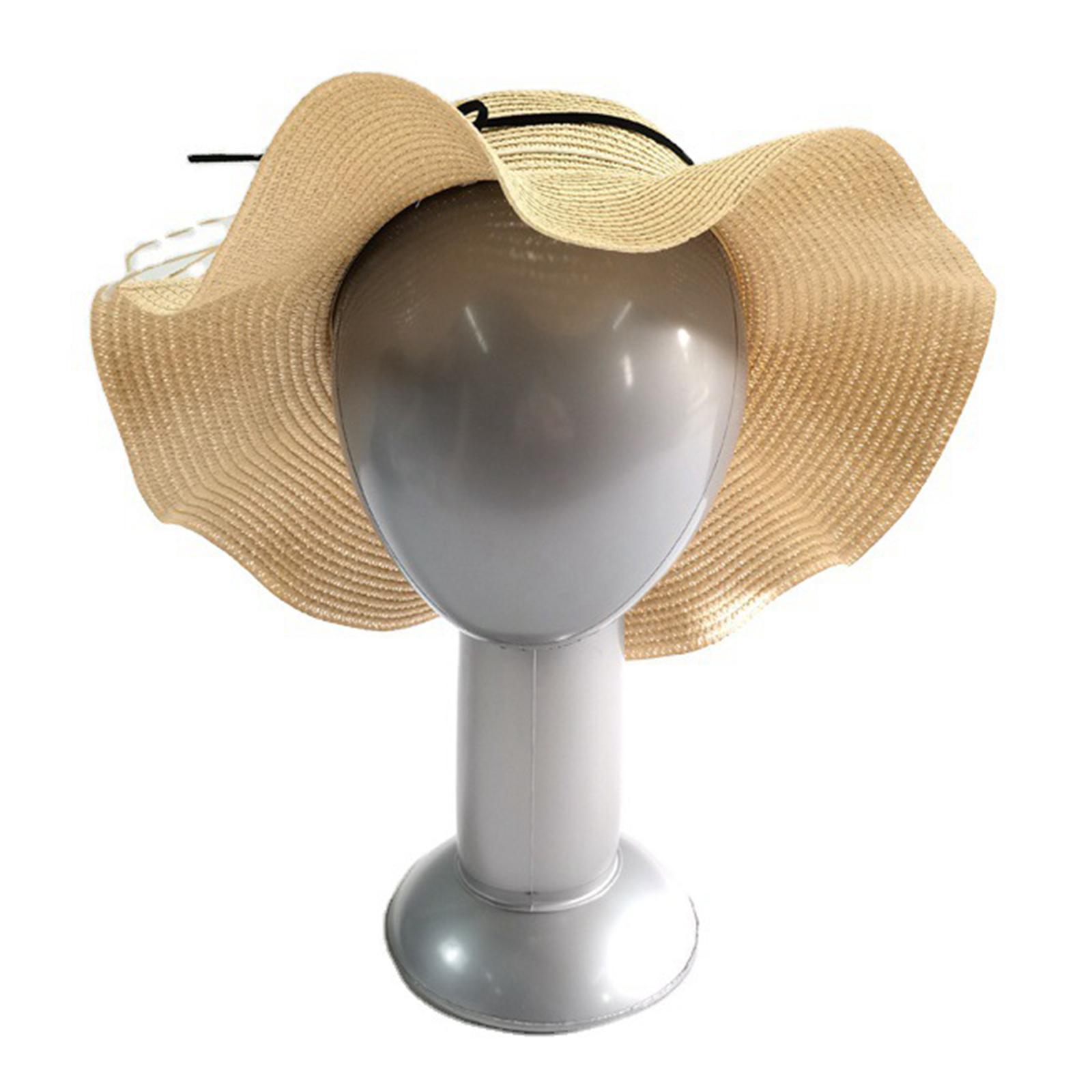 thumbnail 4 - PVC Mannequin Head Manikin Display Wigs Hats Jewelry Shop Window Salon