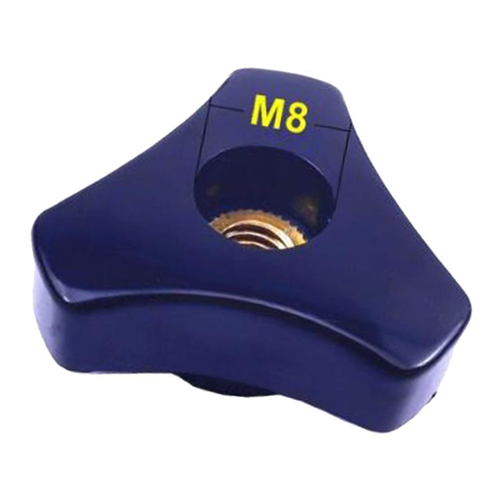 1pc-Aluminium-Threaded-Rod-Connecting-Nuts-Bar-M8-M6-100mm-Length thumbnail 6