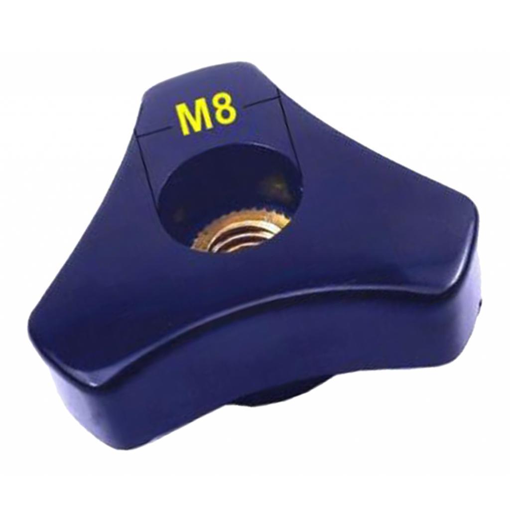 1pc-Aluminium-Threaded-Rod-Connecting-Nuts-Bar-M8-M6-100mm-Length thumbnail 7