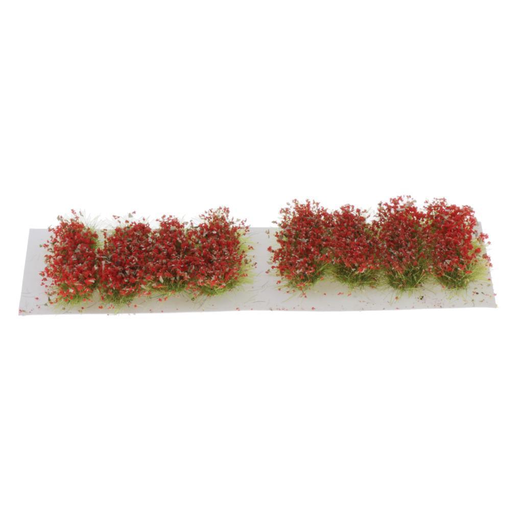Ciuffi-di-Fiori-Statici-per-Diorama-Wargaming-Miniature miniatura 6