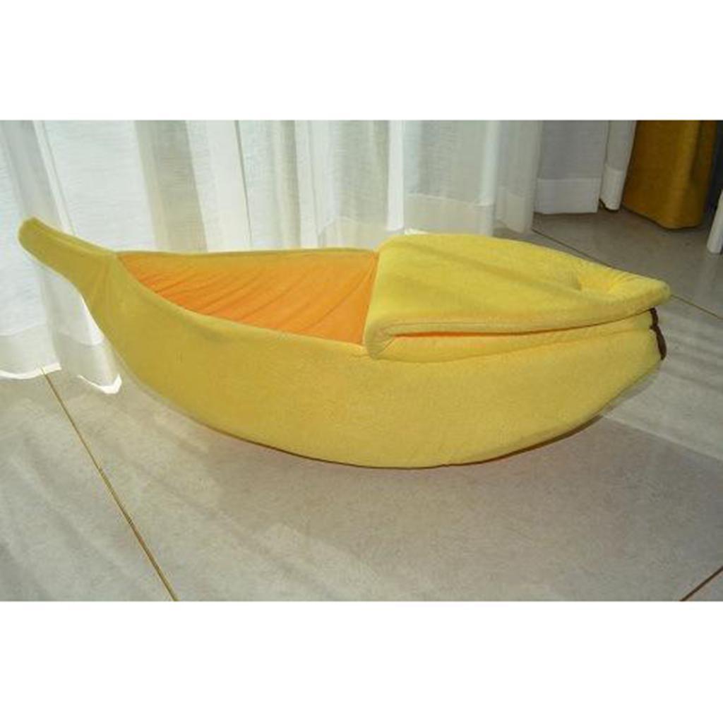 Cuccia-a-forma-di-banana-cuccia-per-gatti-cuccia-per-cuccia-caldo-e-coccolone miniatura 3