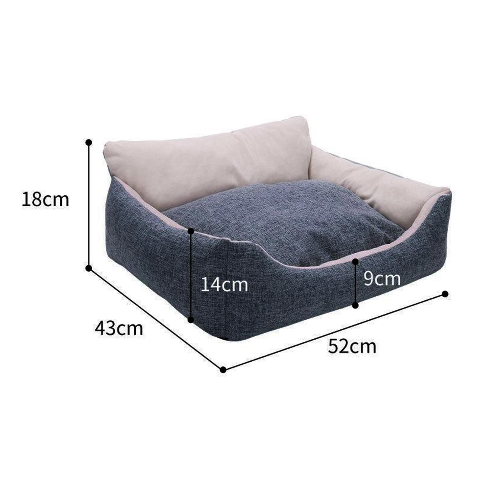 miniature 44 - Chien pour animaux de compagnie, lit de chat doux et lit en peluche chennel